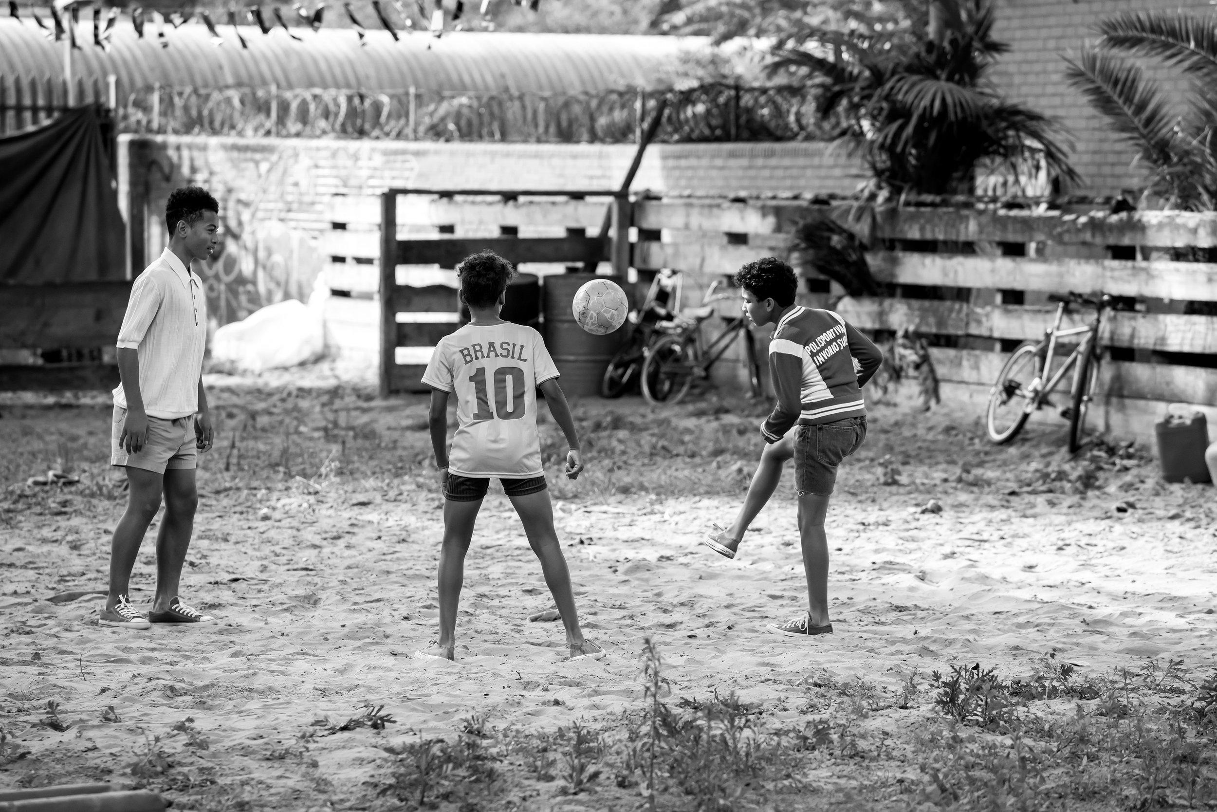 Hugo Boss United - Kids Brazil playing