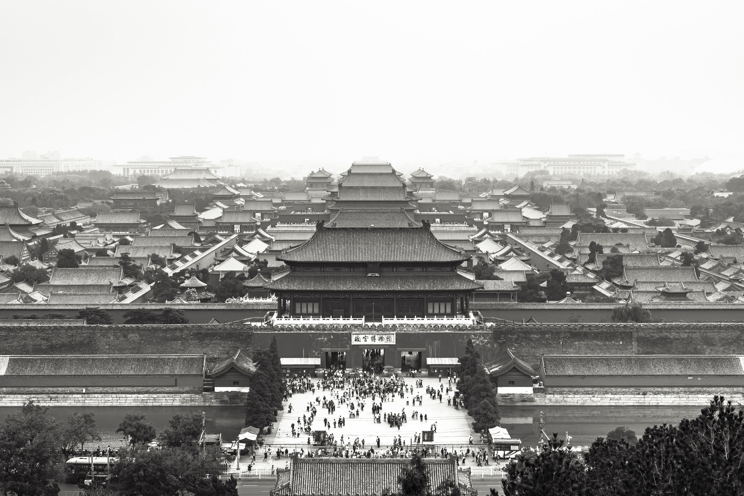 We were humbled by the gates of the Forbidden city