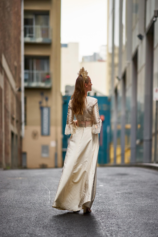 Annika in Melbourne's Laneways
