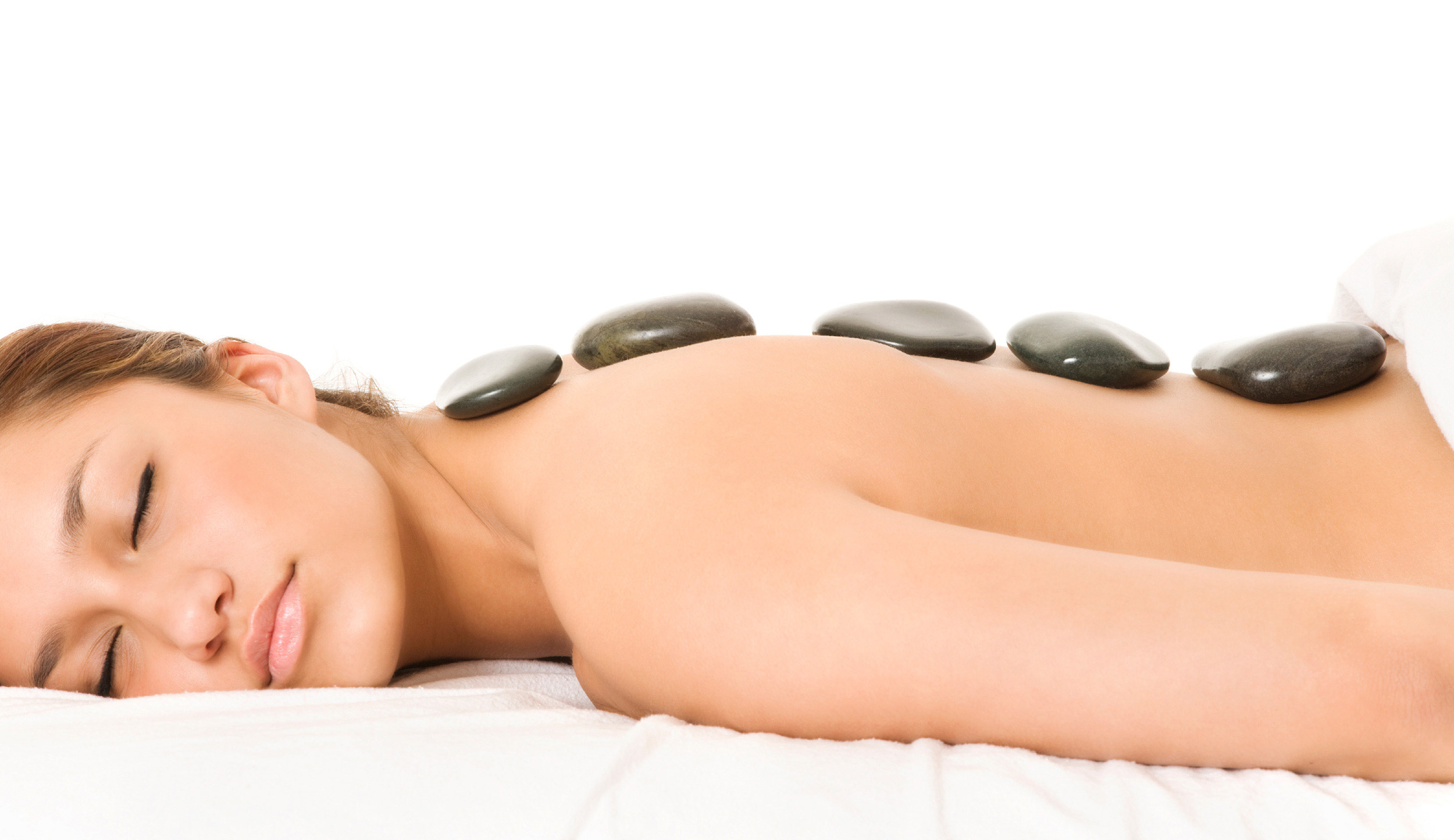 Stoned - Volcanic Hot Stone Back Massage**£45 40 mins - Wow - feeling is believing. A Hot stone massage is truly relaxing and will assist with the softening of tight muscles as the heat from the stones is absorbed by the body allowing the receiver to relax deeply and help tensions release.