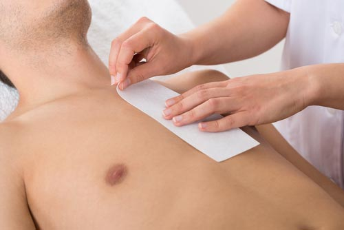 Upper Body - Underarm £15Forearm (including elbow & hands) £20Full arm (including shoulders & hands) £27Small of back £17Full back (including nape of neck, shoulders & blended arm if needed) £28Nipples £11Chest (including shoulders & blended arm if needed) £22Abs(breast bone to Bermuda line) £17Chest & Abs £31