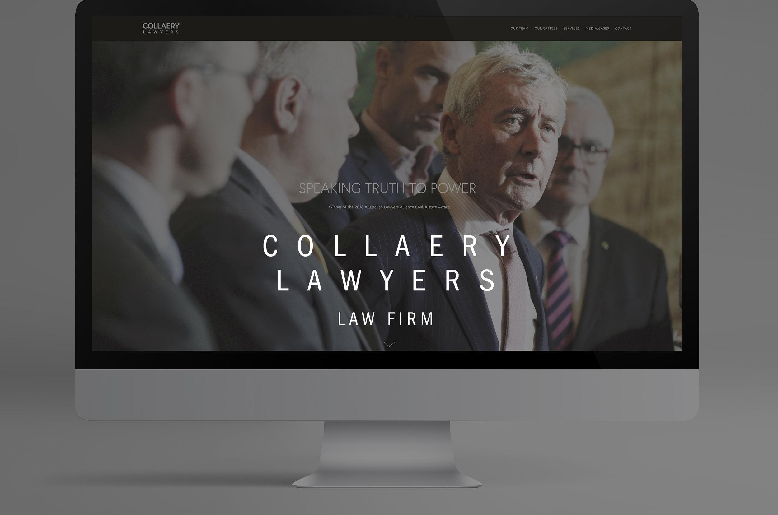 Collaery Lawyers Law Firm Australia International Bernard Collaery