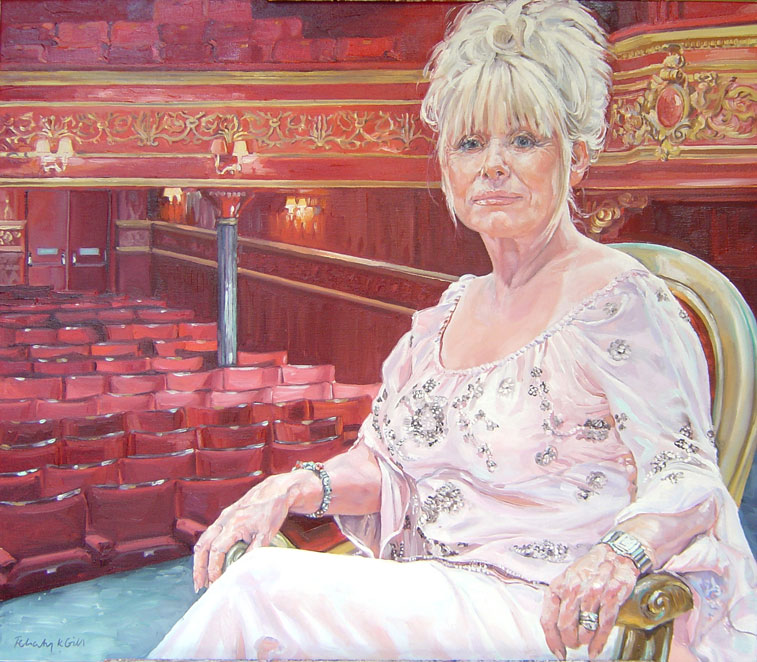 Barbara Windsor MBE, for BBC Star Portraits