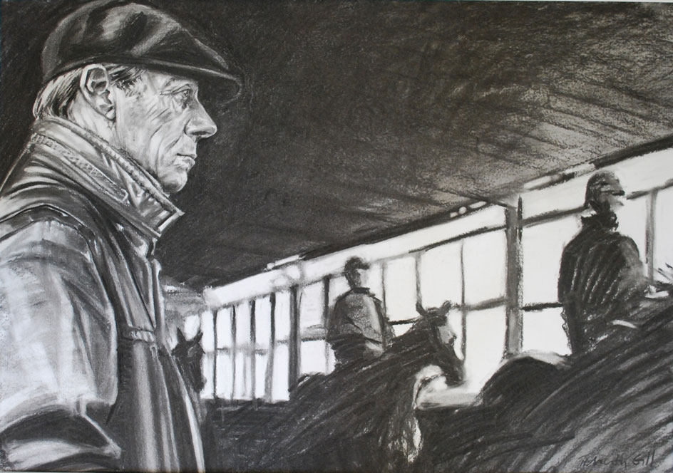 Henry Cecil - Charcoal