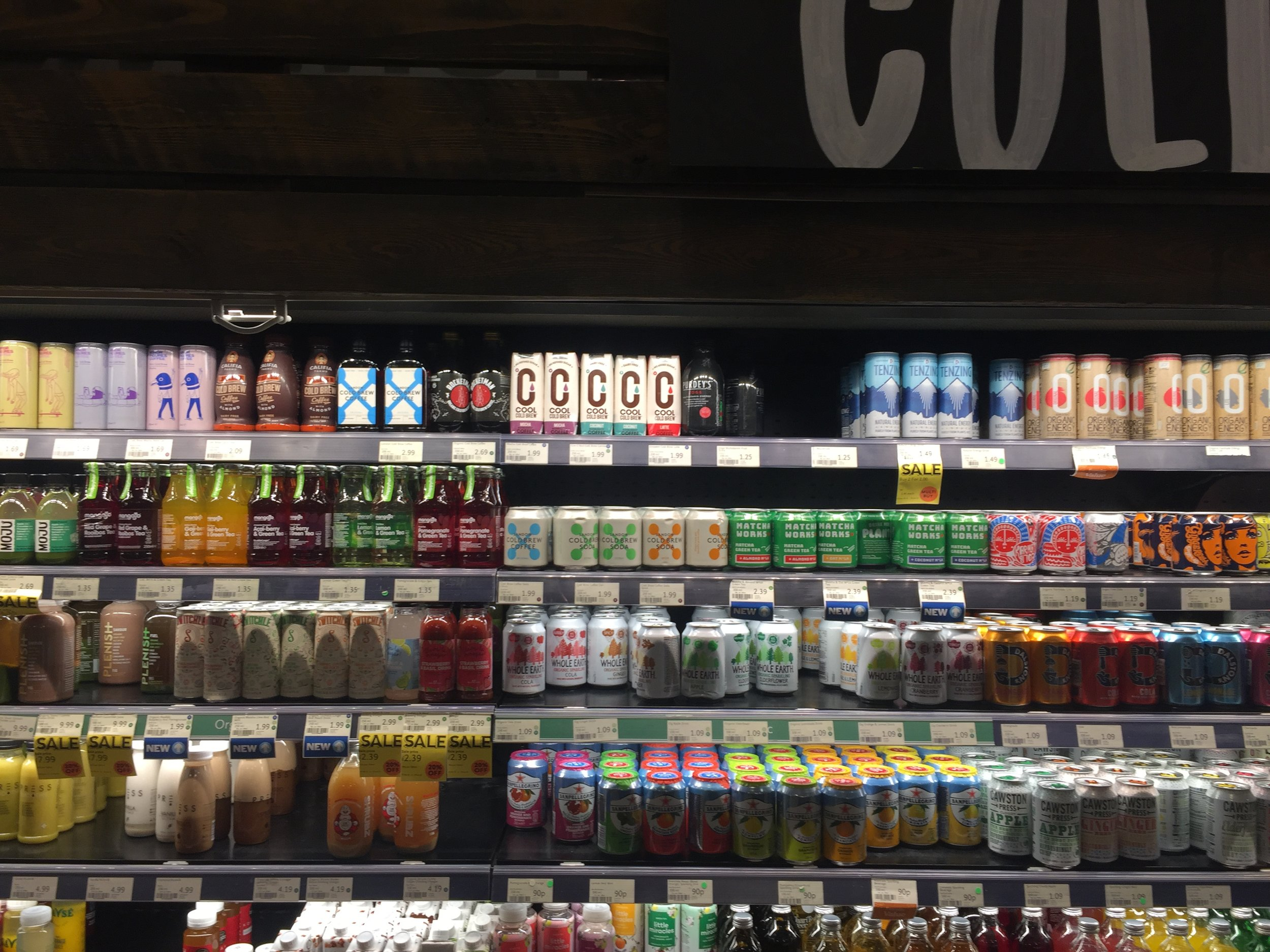 Cool Cold Brew in Whole Foods Market
