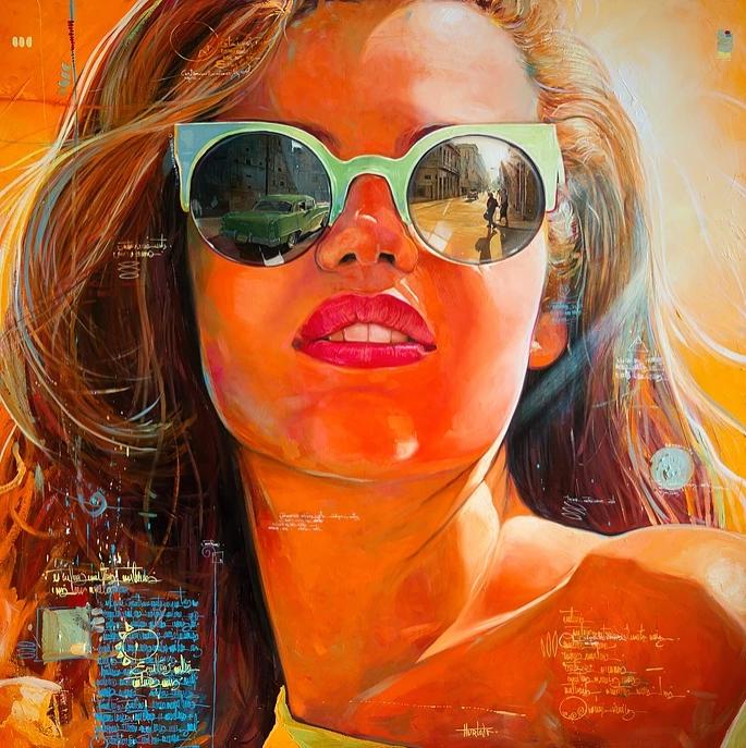 """""""Esperando La Lyz"""" 150x150 cm. SOLGT"""