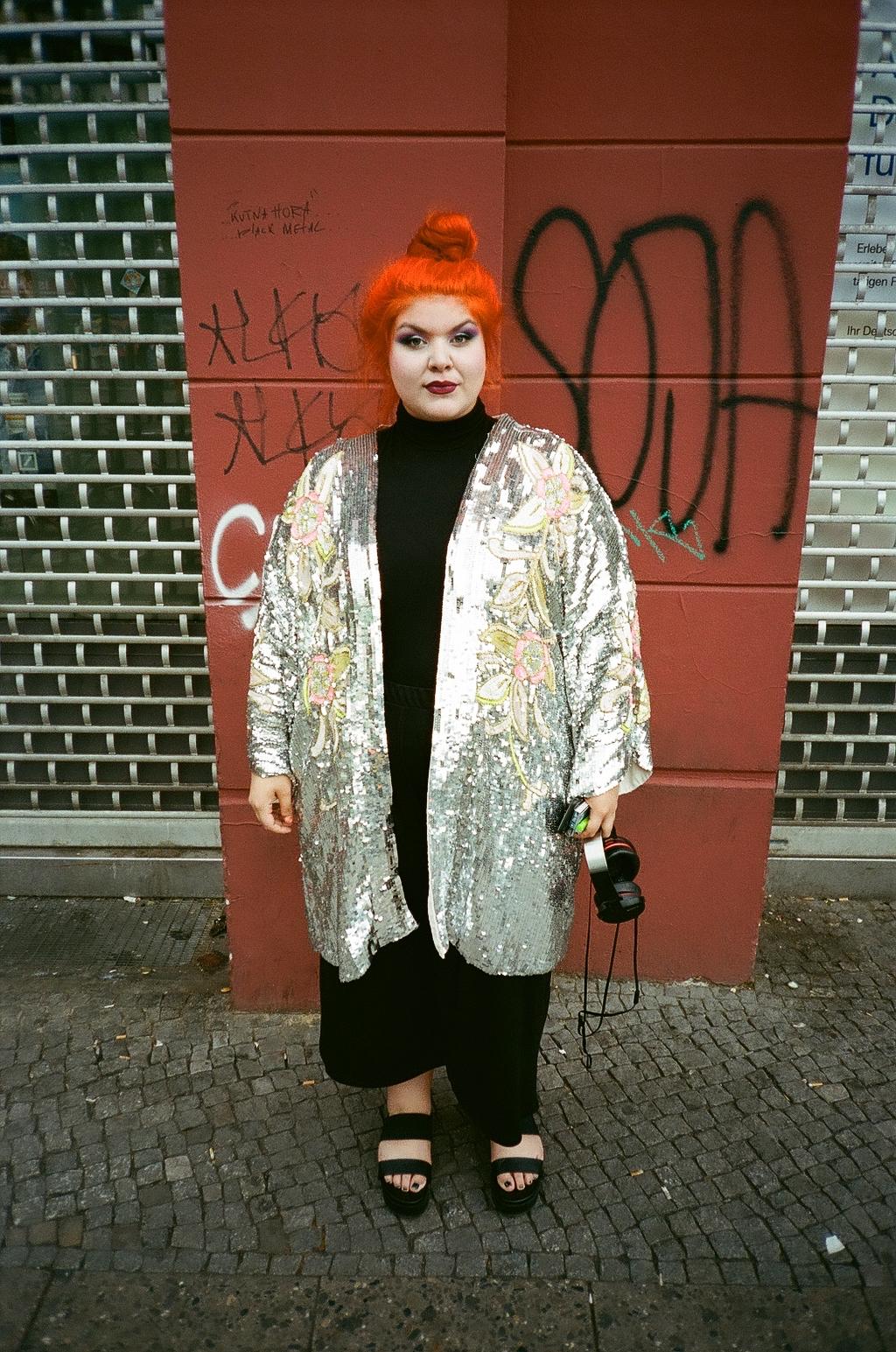Carolin, born in Berlin (Germany)