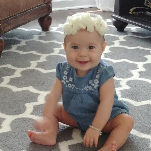 Halle Mishler- 9 months old & face of B&M Design Co. ;)