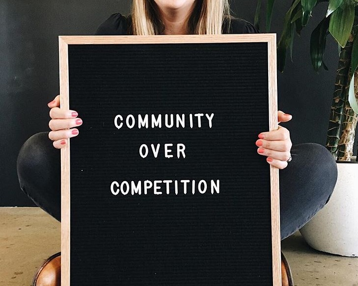 Natalie Frank - This lady has created an amazing community for business owners to encourage each other and fight the competition that comes along with owning a business. . #communityovercompetition