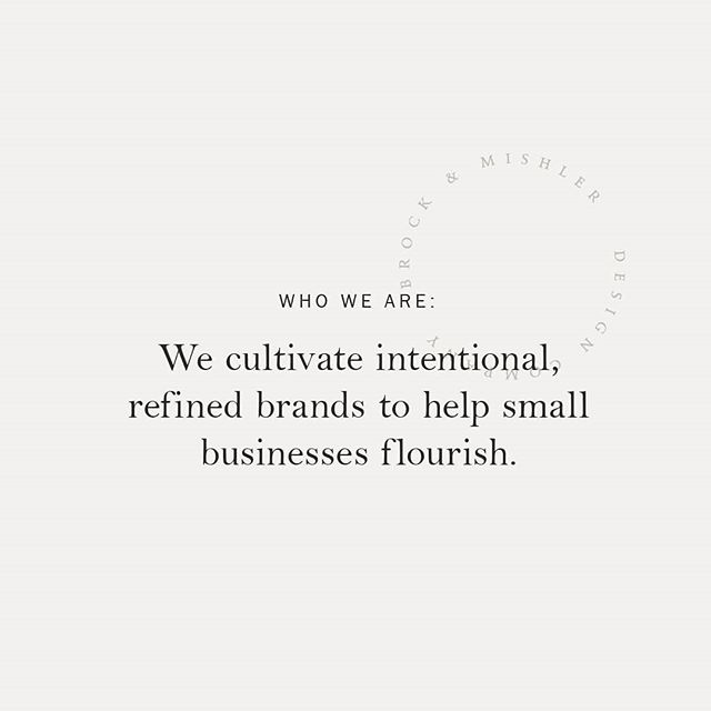Here at @bmdesign_co, we cultivate intentional, refined brands to help small businesses flourish.🌿 And Cheers to the weekend, enjoy that Saturday of yours!😘 . . . . . #whoweare #brandingstudio #branddesigner #midwestblogger #midwestartist #missionstatement #saturdayvibes