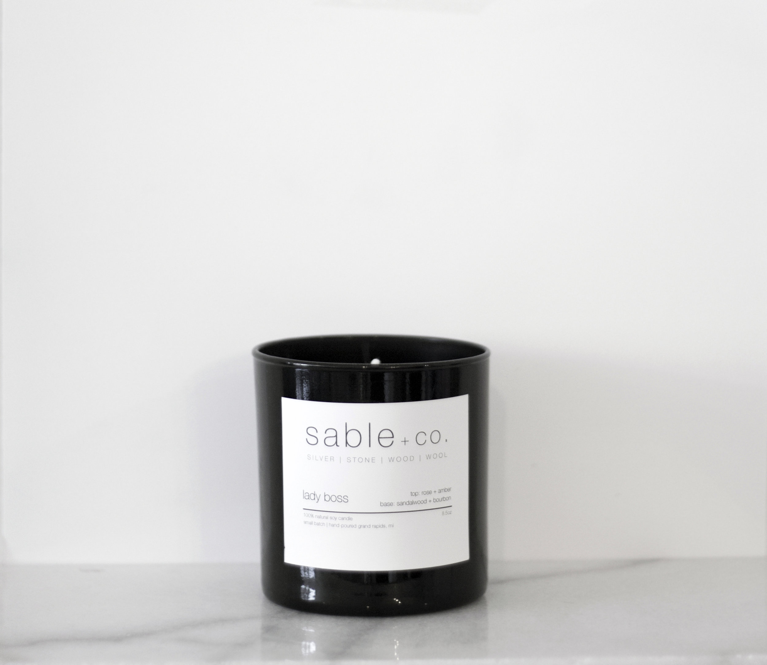 Lady Boss Candle, $24