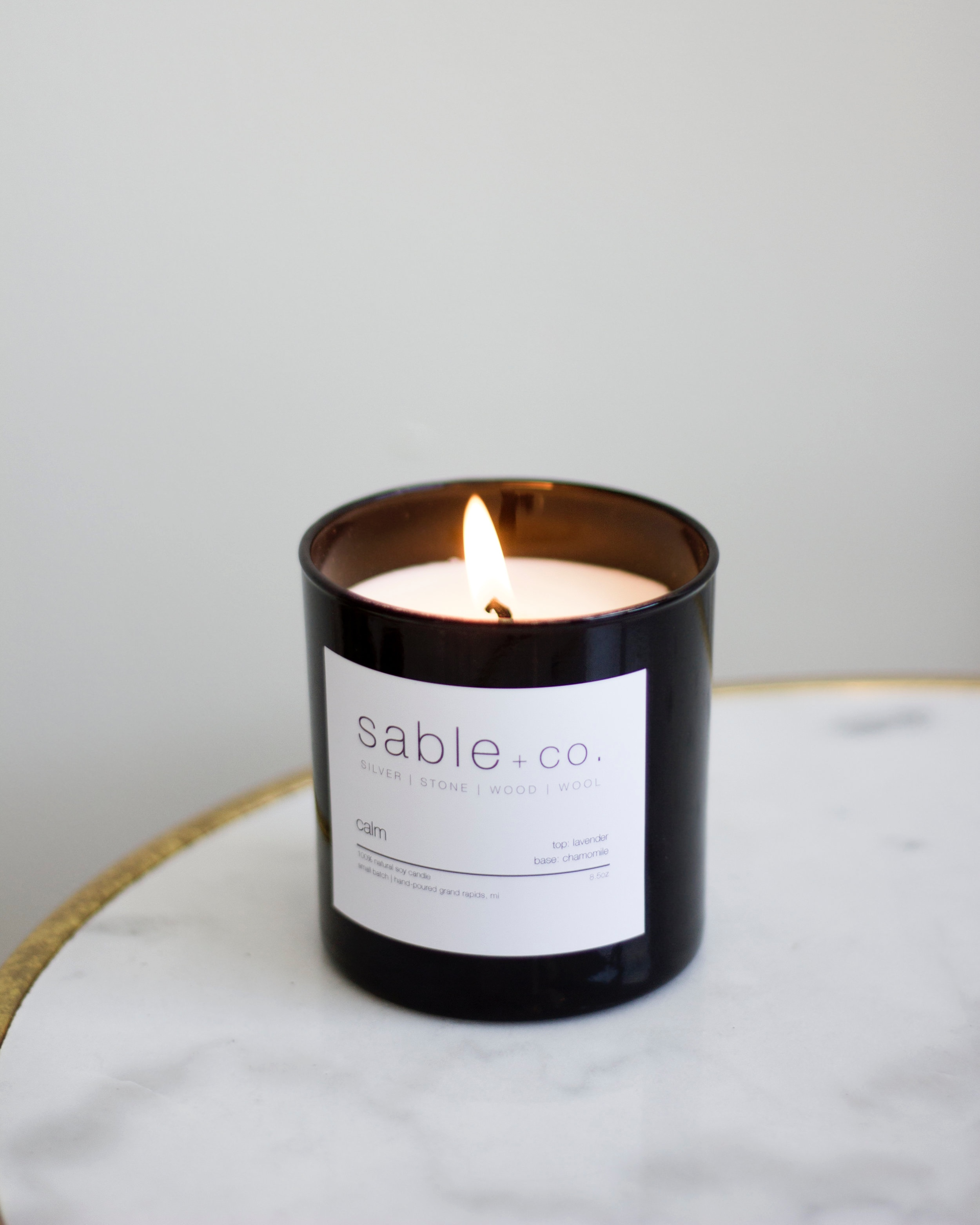 Calm Candle, $24