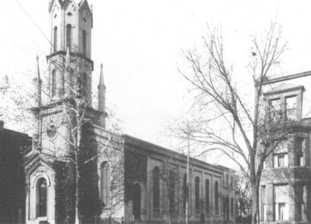 Steeple at Madison & Grace, 1916