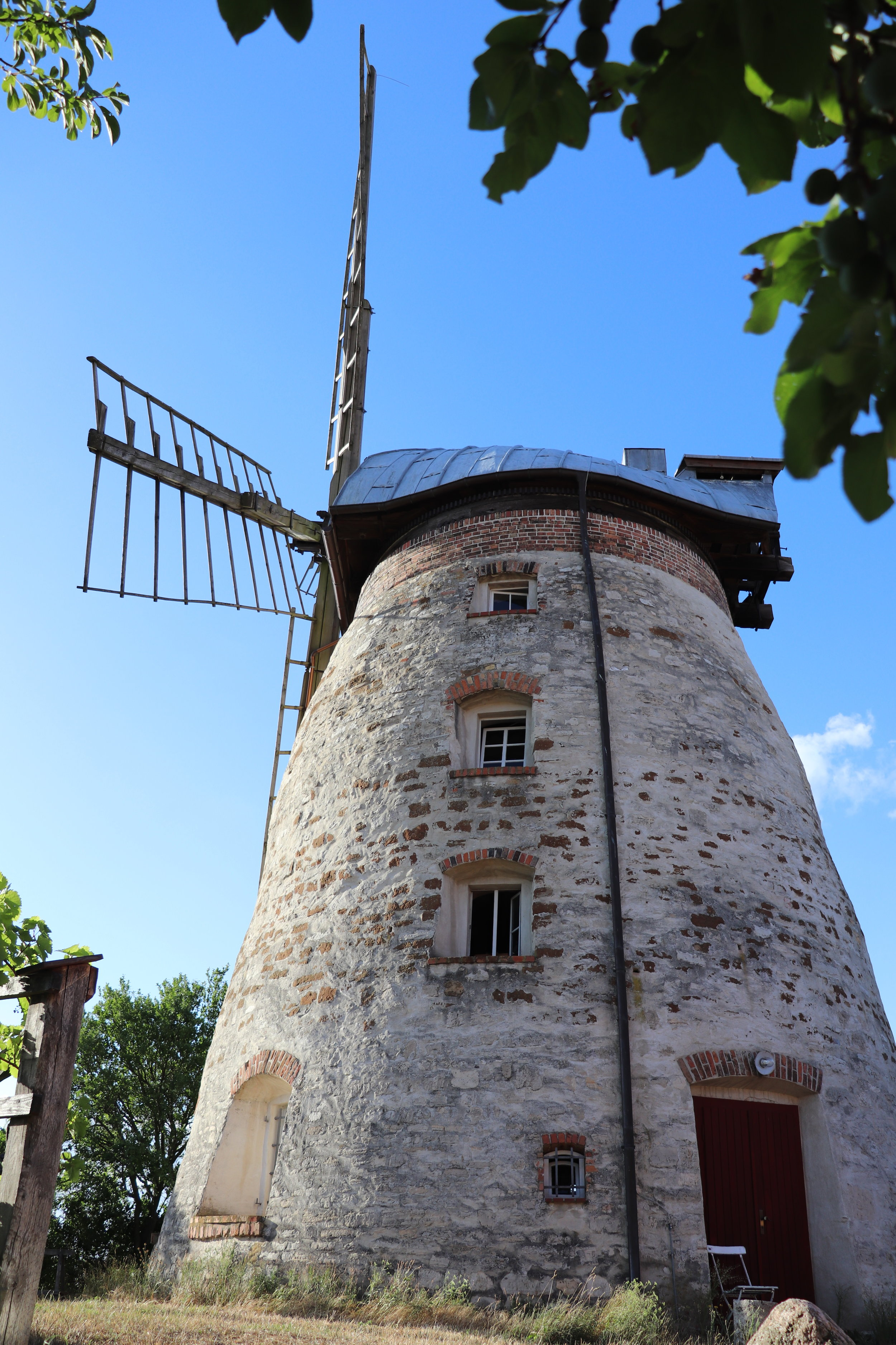 The owner of this windmill, an architect, bought it with two other friends while still in high school. He then later bought their share and renovated the windmill as a weekend home for his family as well constructing historically accurate 19th-century cottages on the remaining land, one of which is my home base for the next month.