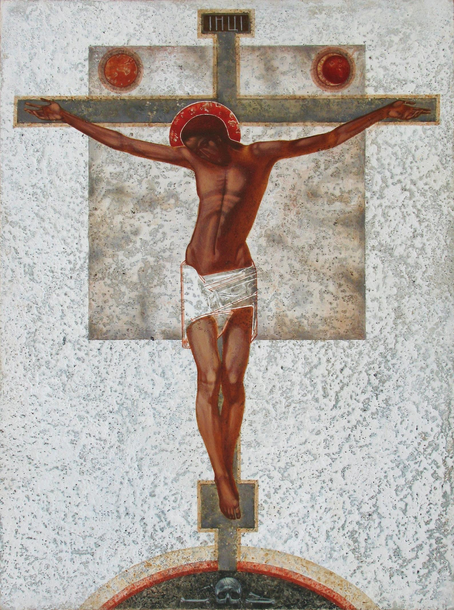 Crucifixion  by  Ivanka Demchuk