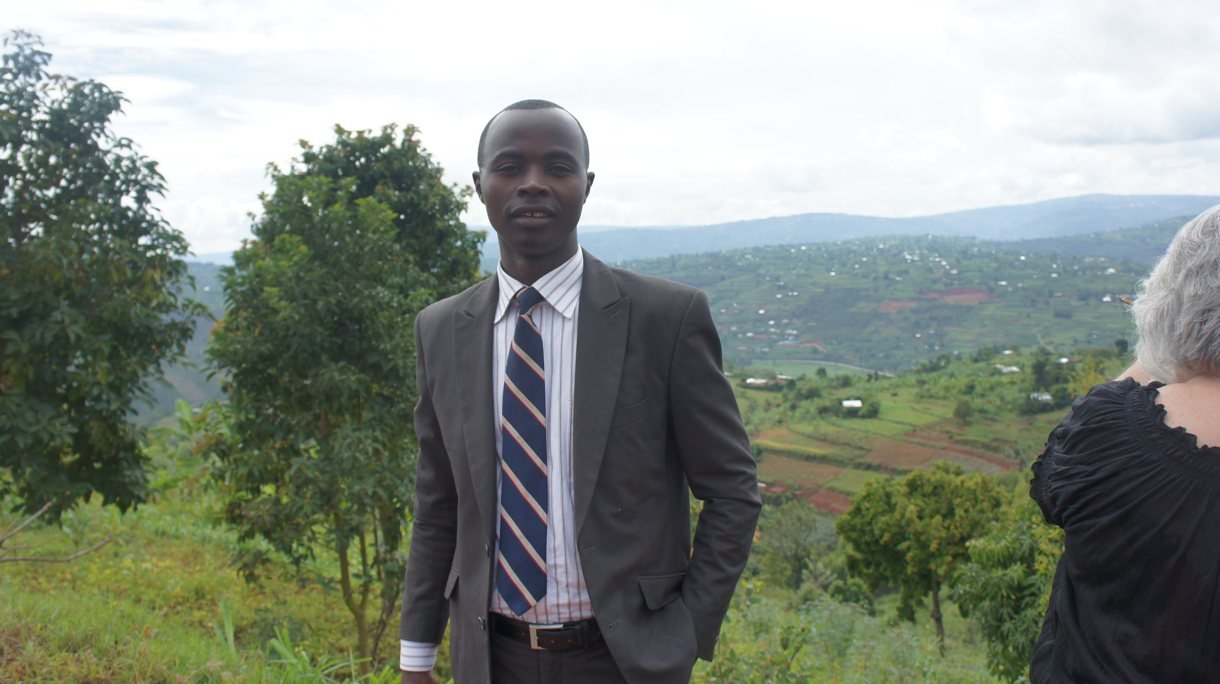 Simeon Ngezahayo - Translator Extraordinaire!