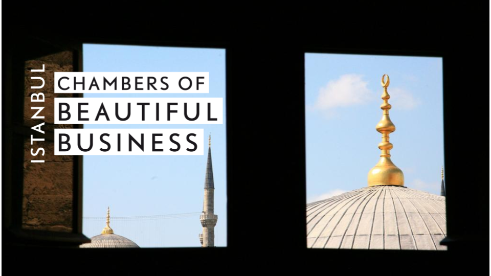 May 25, 2019 Istanbul - Co-hosted by Eda Çarmikli & Markus William LethoLearn more
