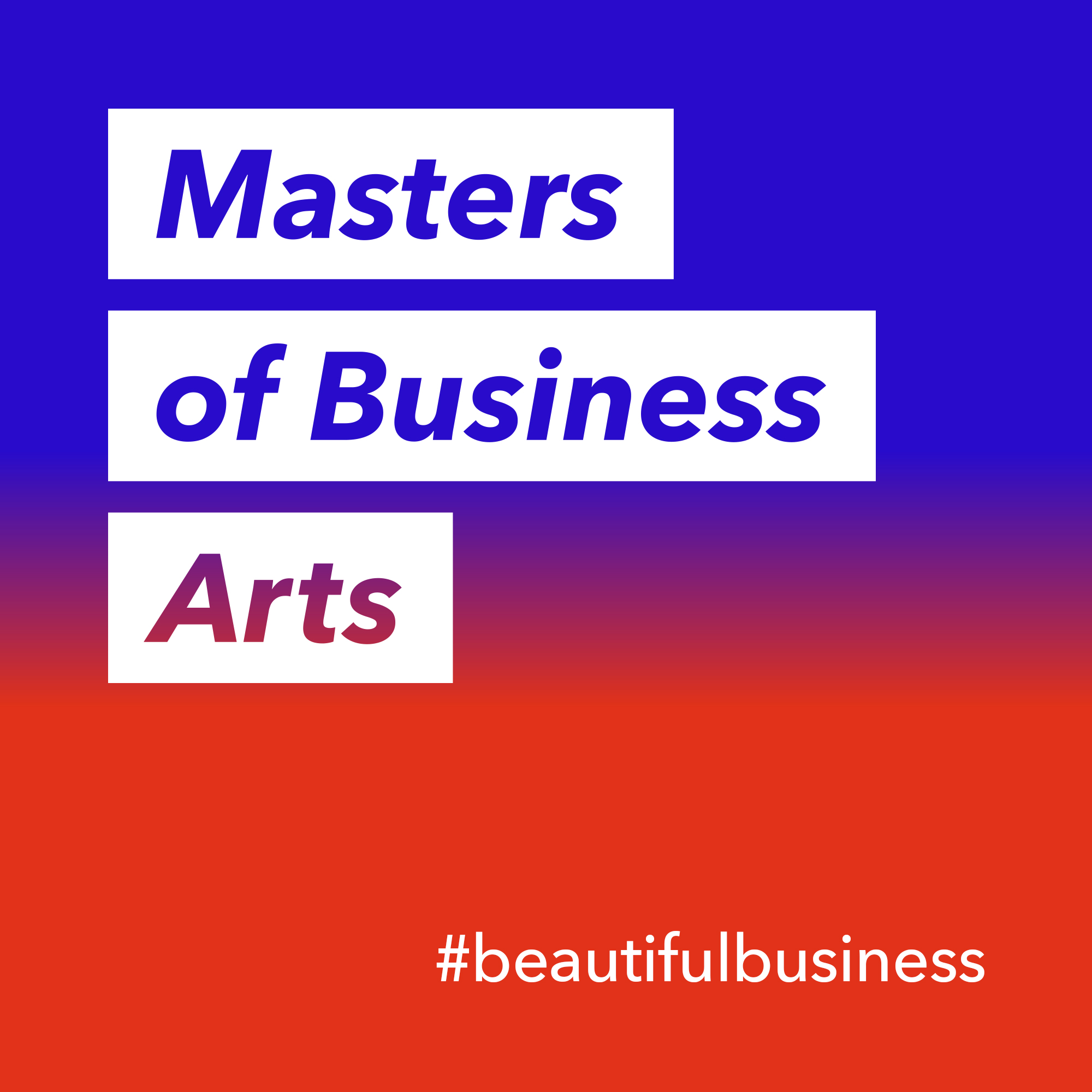 Our podcast features conversations with leaders from business, tech, humanities, and the arts, who explore the possibilities of making business more beautiful. You can listen to it on iTunes, Spotify, Google Podcast, Pocket Cast, and Anchor. -