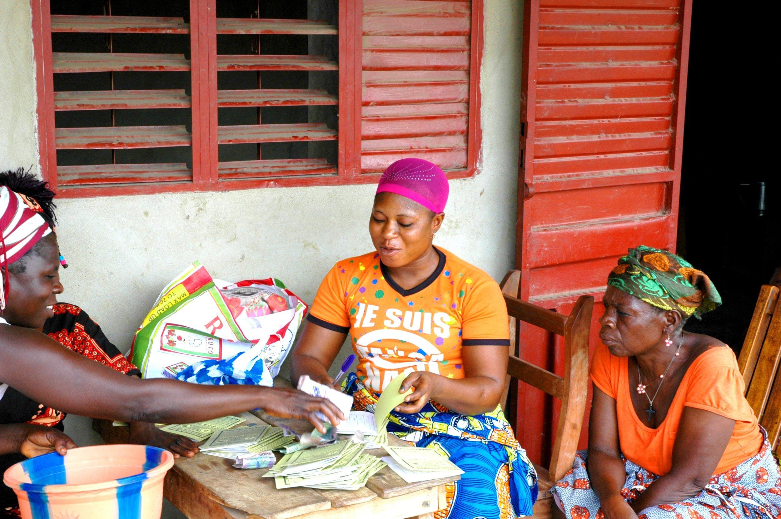 Evelyne, entrepreneure africaine