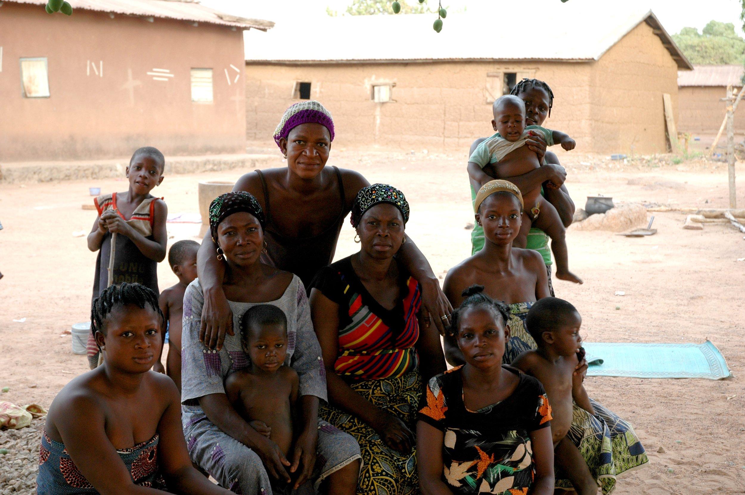 Femmes de la famille Atchade