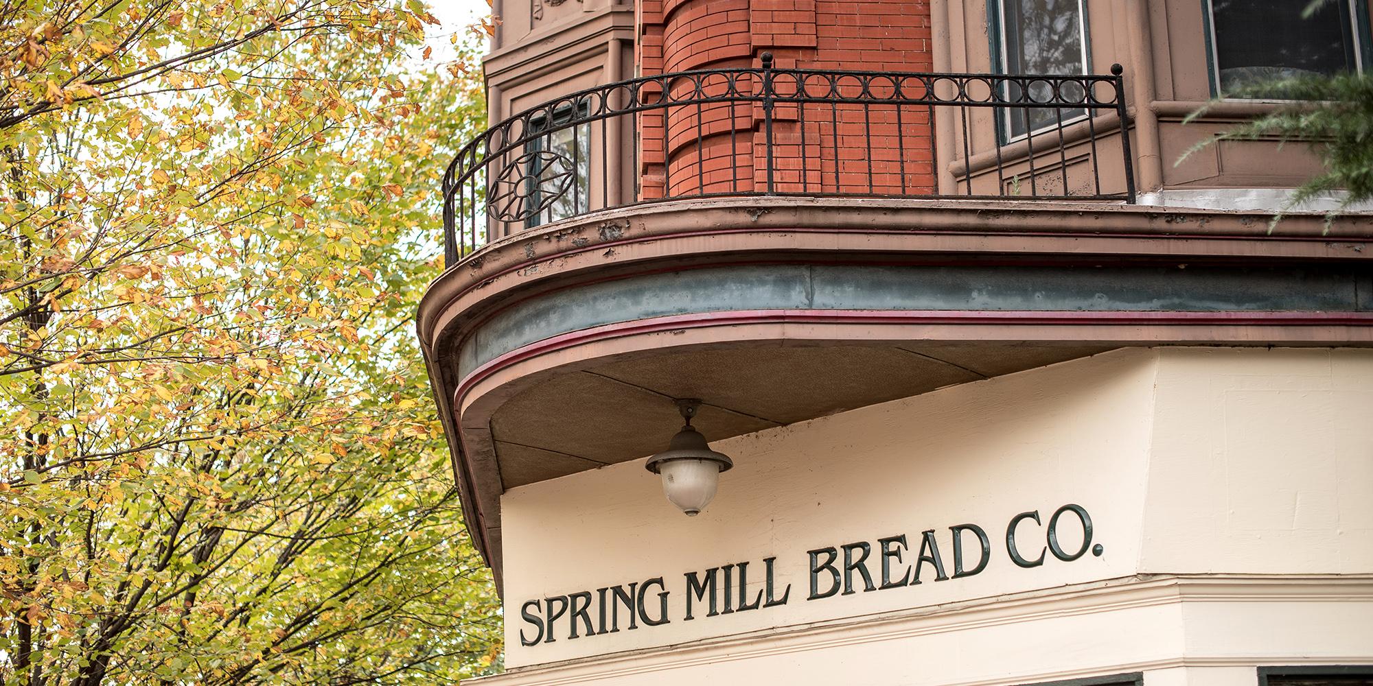 ARTISANAL BAKED GOODS AT SPRING MILL BREAD COMPANY