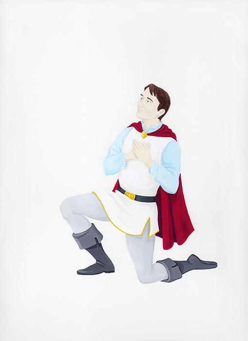Self-Portrait as Prince Charming