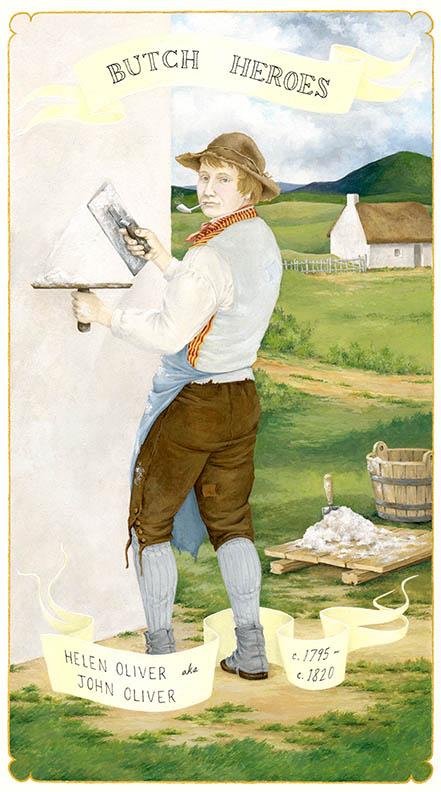 Helen Oliver aka John Oliver c. 1795-c. 1820 Scotland gouache on paper, 11 x 7 inches 2011