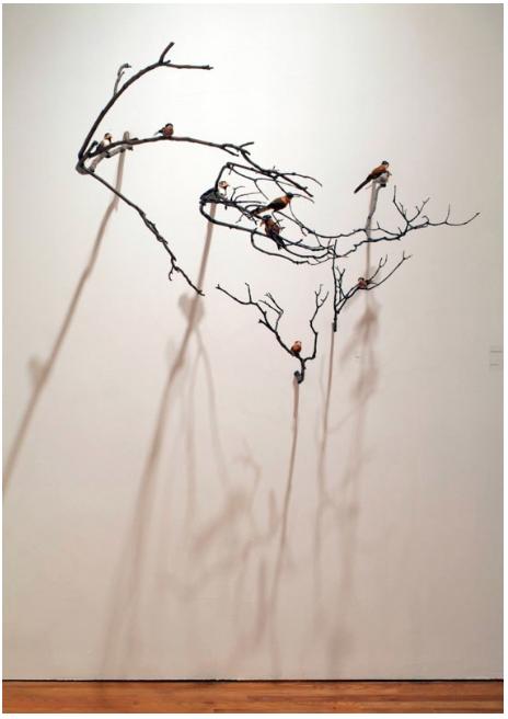 The Birdmen (Installation View 'Overlap' Exhibition)