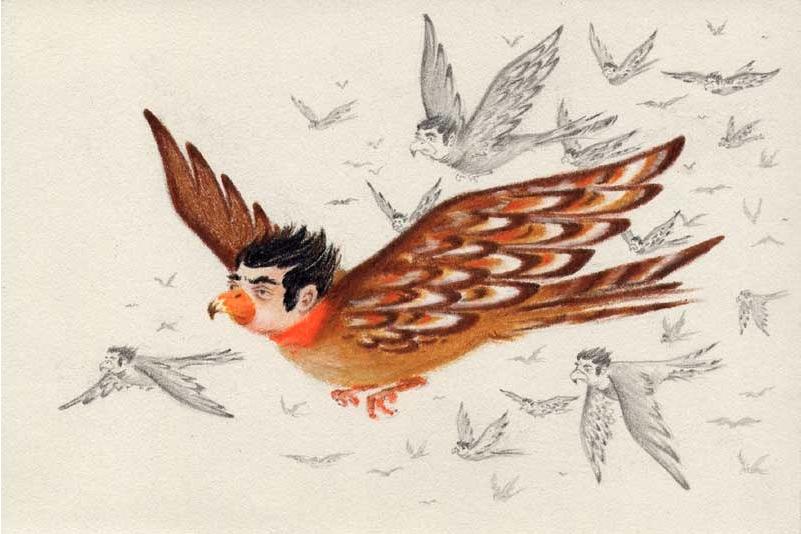 Flock of Birdmen