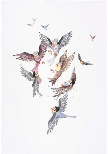 The Birdmen Battle