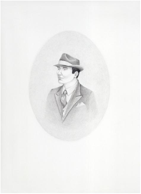 Self-Portrait in a Fedora