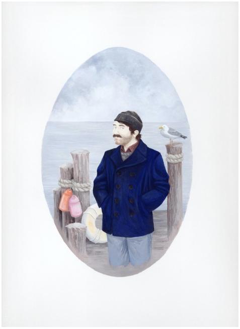 Self-Portrait as a Coastal Man