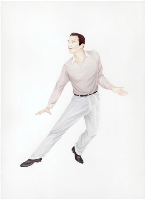 Self-Portrait as Gene Kelly