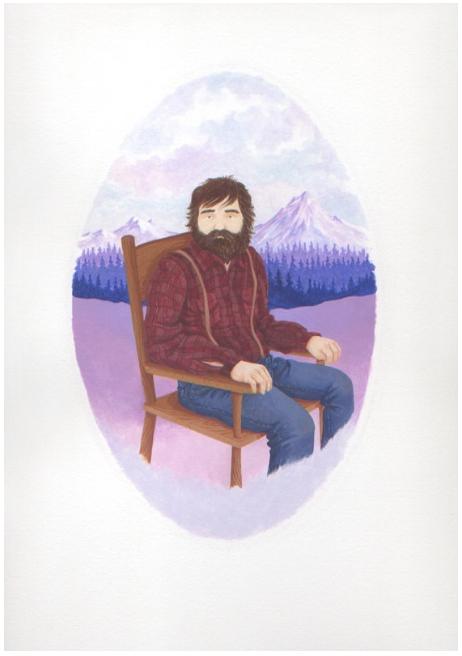Self-Portrait as a Mountain Man