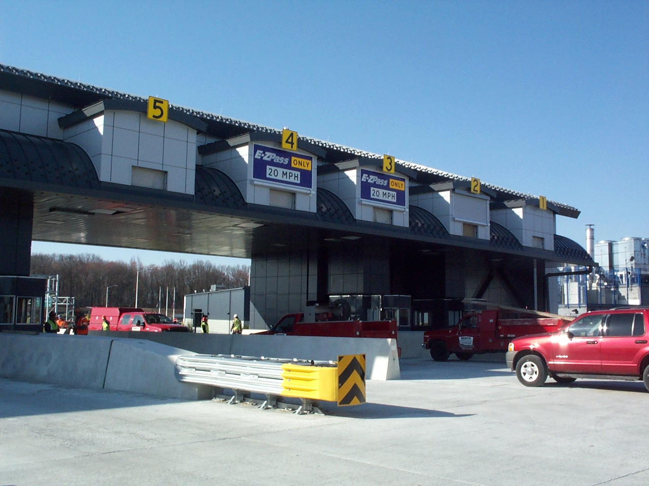 NYS Thruway Authority Toll Utility Building  Newburg, NY