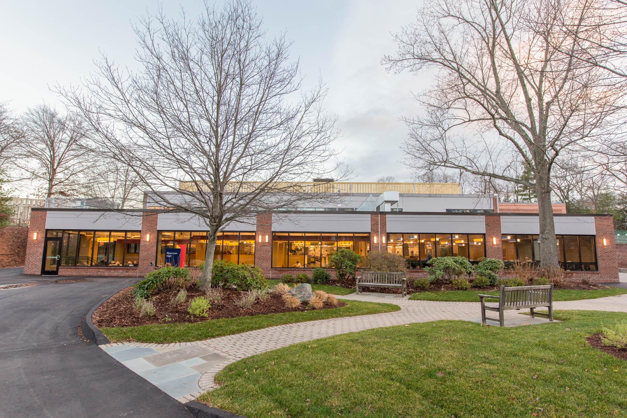 Sherman Dining Hall  Brandeis University