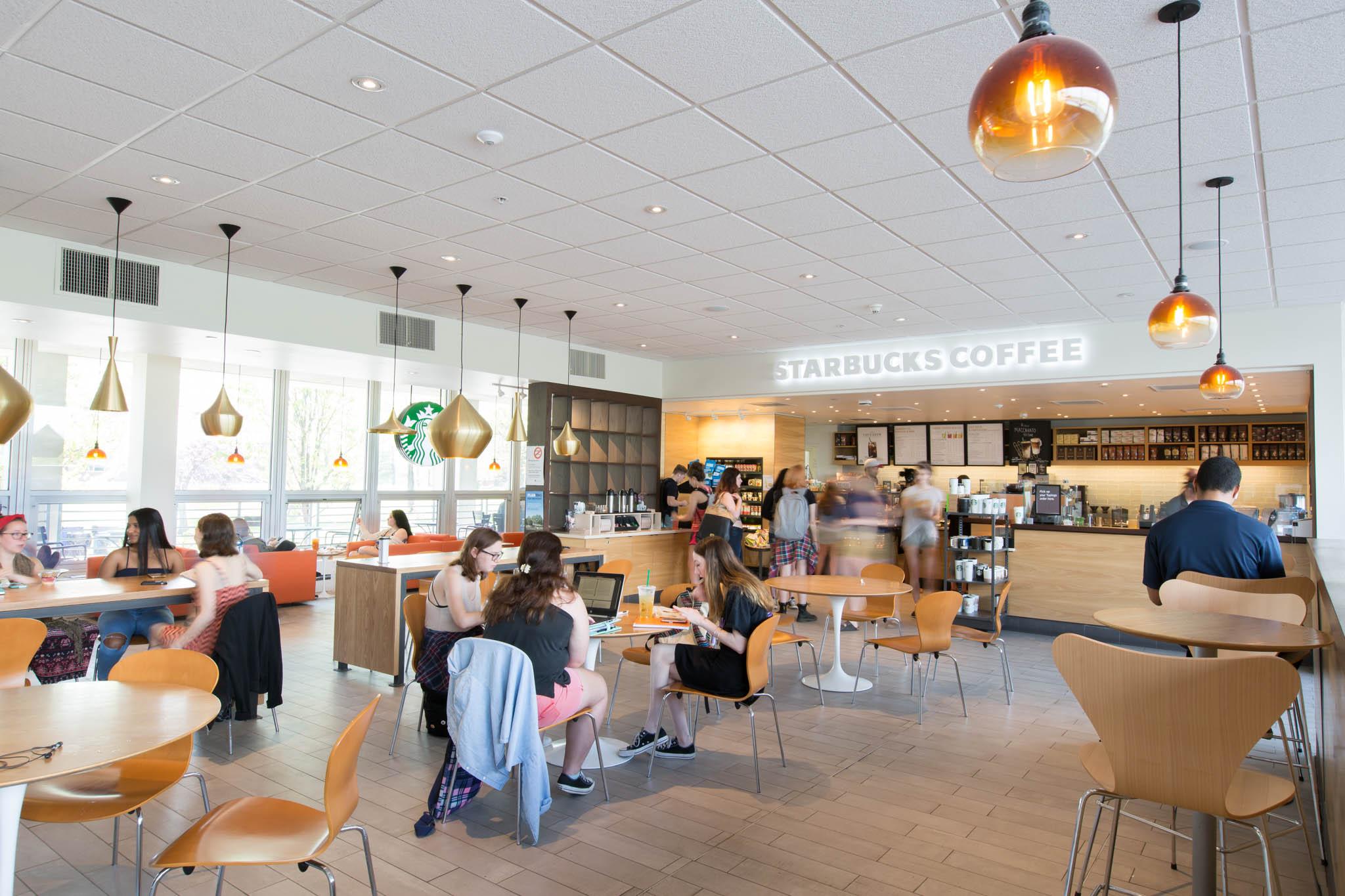 Starbucks at Parker Theater  SUNY New Paltz