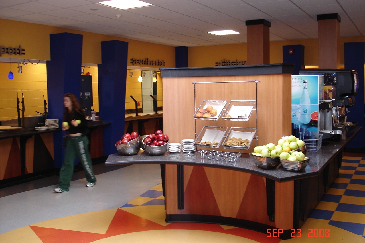 The Commons Residence Dining Hall  Drew University