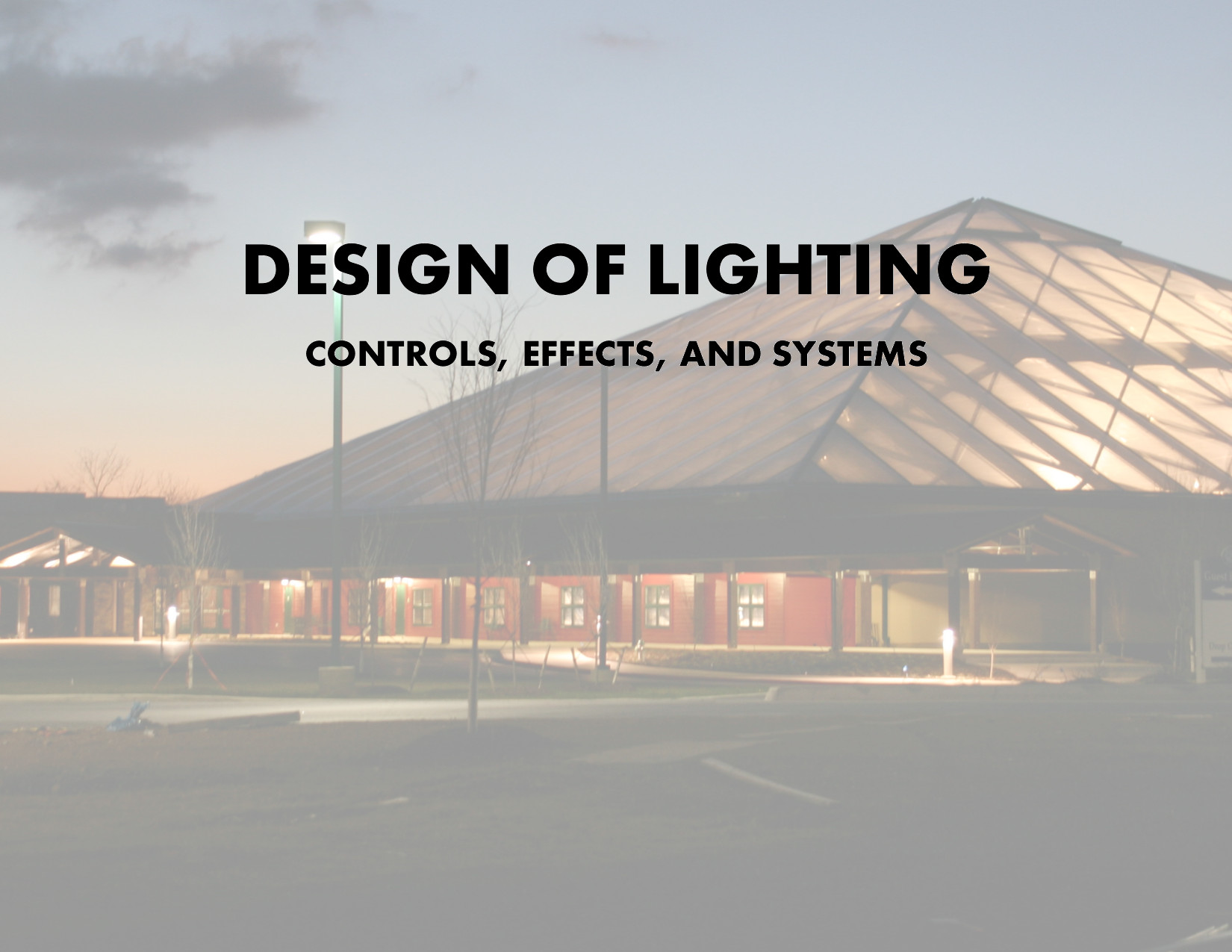Design of Lighting Controls
