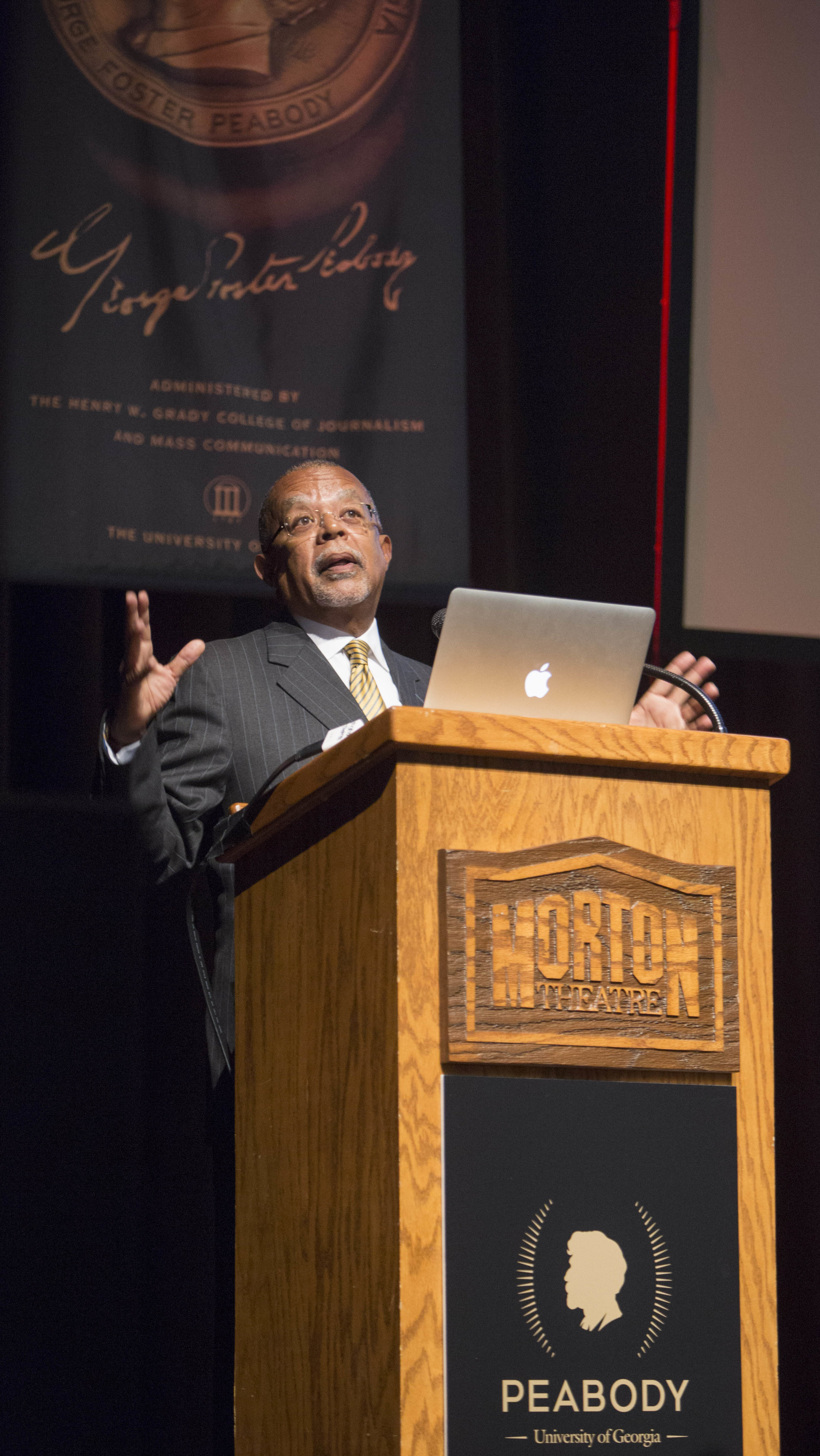Dr. Henry Lewis Gates on the Morton Stage