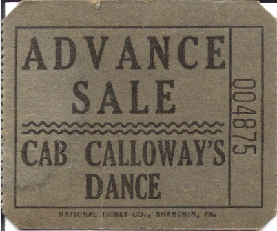 A Ticket to Cab Callaway's Dance