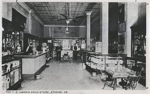 Harris Pharmacy in Morton Theatre - 1914.jpg