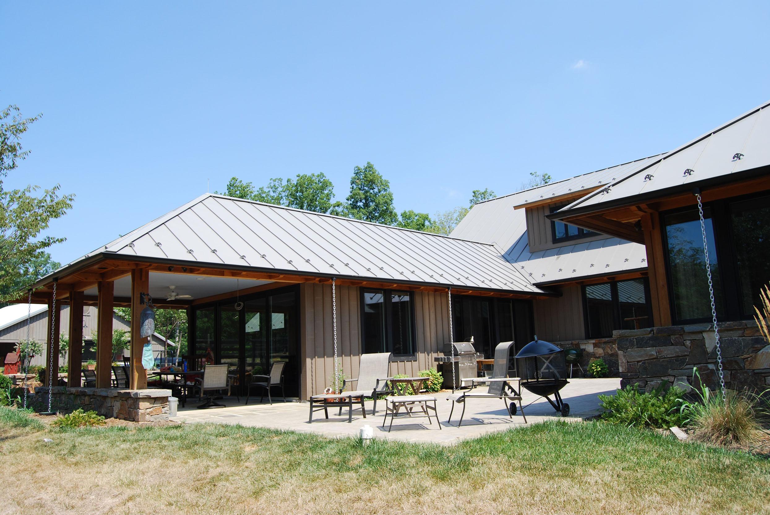 Albemarle County Horse Farm Stoneking Von Storch Architects