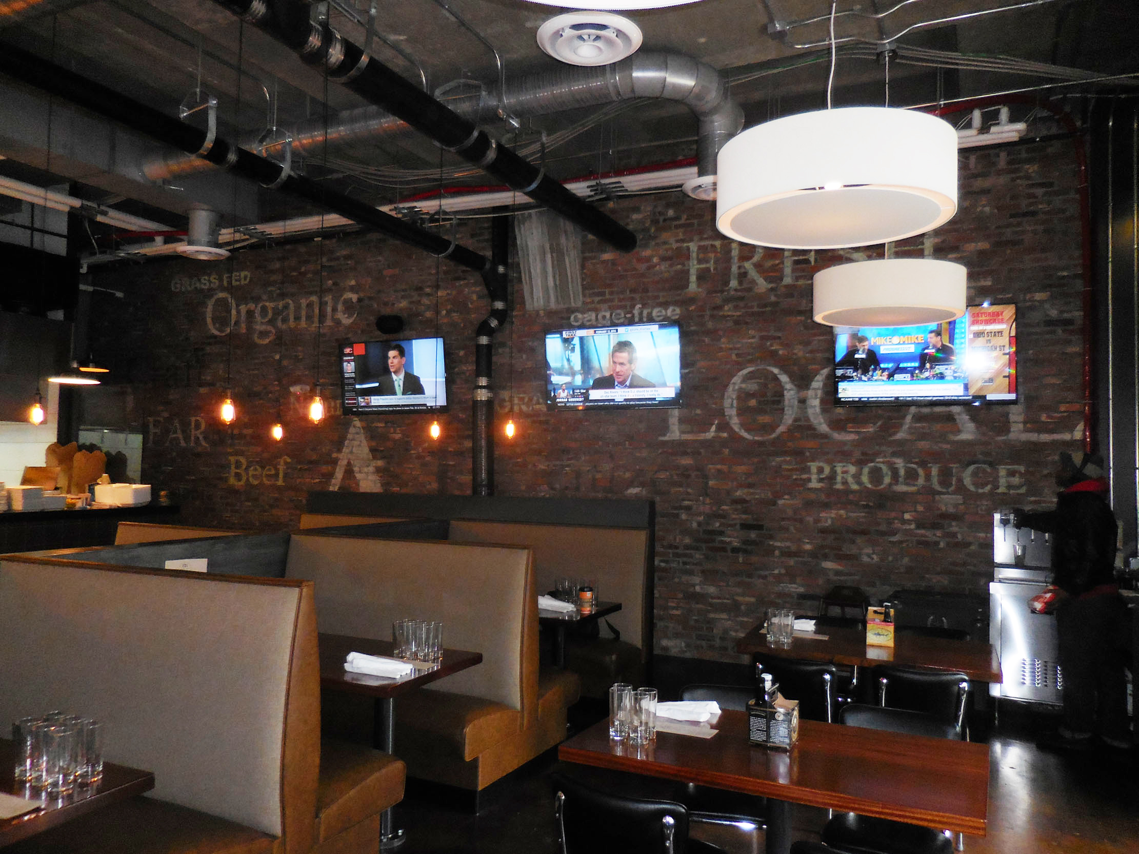 Citizen Burger Bar Arlington Stoneking Von Storch Architects