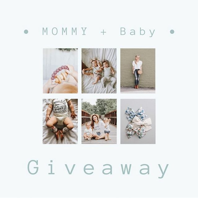 Treat yourself and your babe with shop credit to a few of our favorite shops! We have teamed up with some of our favorite brands for a fun little mommy + baby giveaway!!! Enter for a chance to win shop credit from @rosiejaneandco ($30) @bannortoys ($30) @chico.rose ($30) @threadlynn ($35)@shopcottonwoodboutique ($30) @mushie_co ($50) @bc_california ($30) • The rules are easy! Just follow each of these gorgeous accounts below!  @rosiejaneandco  @kenzie.salomon  @lexishanklin  @bc_california  @chico.rose  @bannortoys @mushie_co @party0f5ive  @shopcottonwoodboutique  @threadlynn @vannusdarlings • Tag one friend per comment! Each tag counts as an additional entry. *for 10 bonus entries share this post on your stories and tag us!  The Winner will be announced 6/19 at 9:00pm EST. • • • This giveaway is in no way sponsored or endorsed by Instagram.