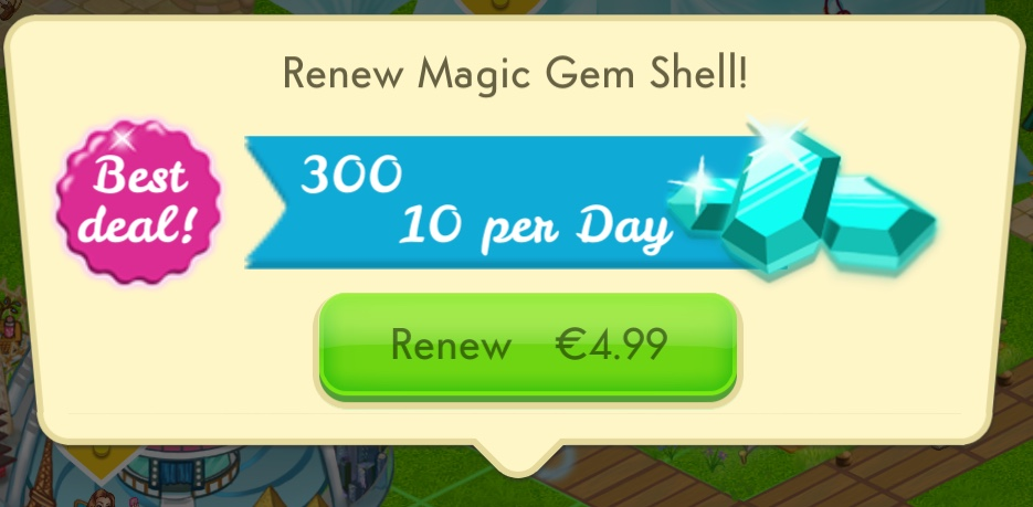 Renewing the Magic Gem Shell