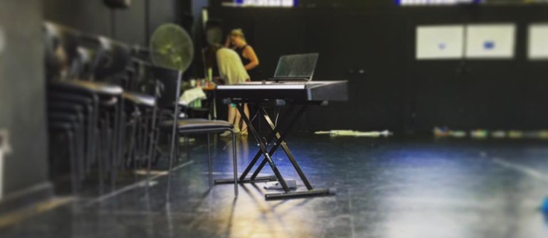 The audition room for Australian Young Theatre for Young People's Spring Awakening