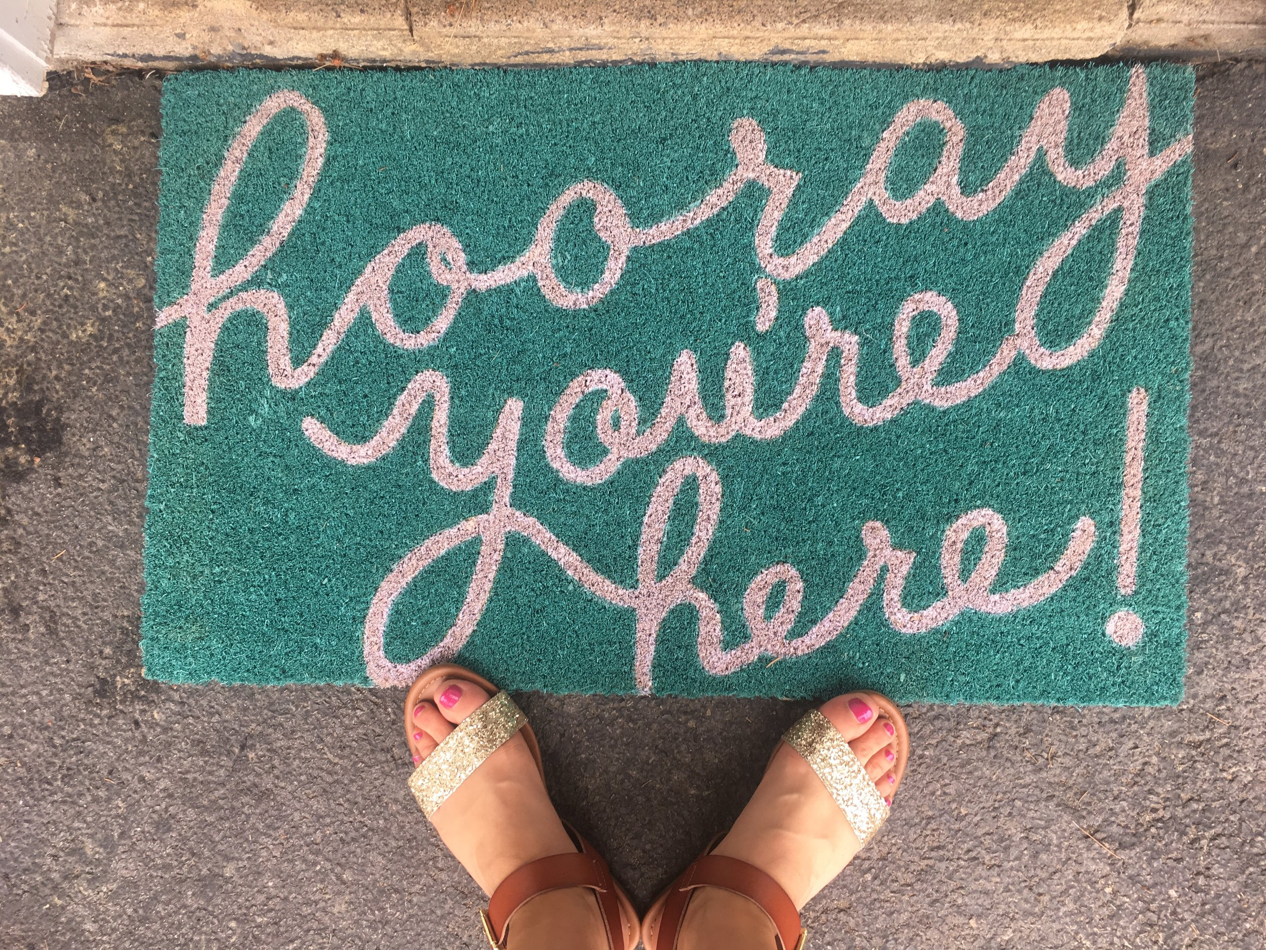 hooray you're here