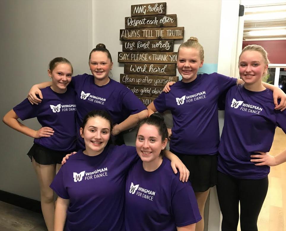 Wingman for Dance student dancers