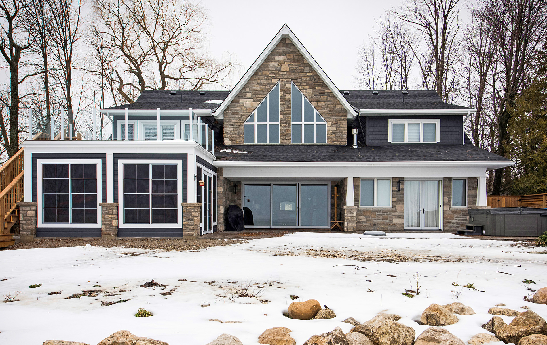 Feature custom home from  L. Patten and Sons gallery